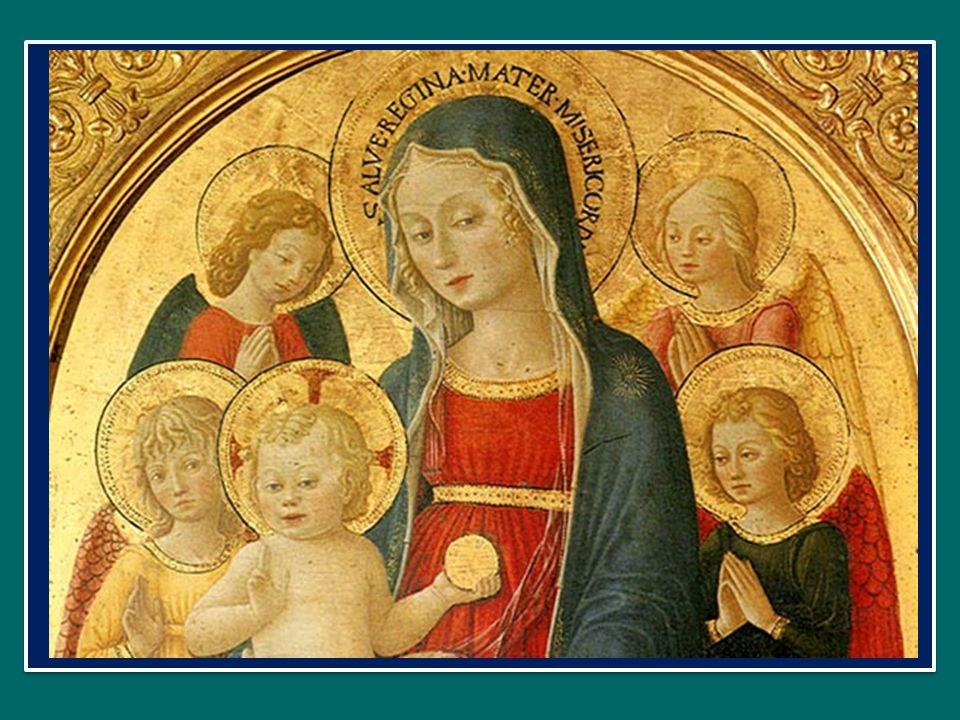Sálve félix Vírgo puérpera: nam qui sédet in Pátris déxtera, Salve Vergine e Madre felice, colui che siede alla destra del Padre, Caélum régens, térra