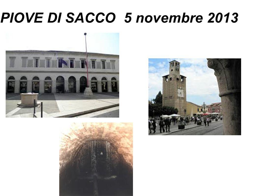 PIOVE DI SACCO 5 novembre 2013
