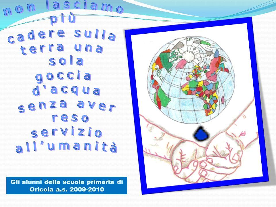 Gli alunni della scuola primaria di Oricola a.s. 2009-2010