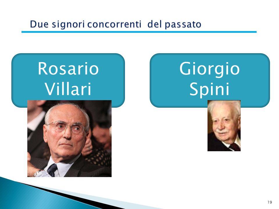 19 Rosario Villari Giorgio Spini