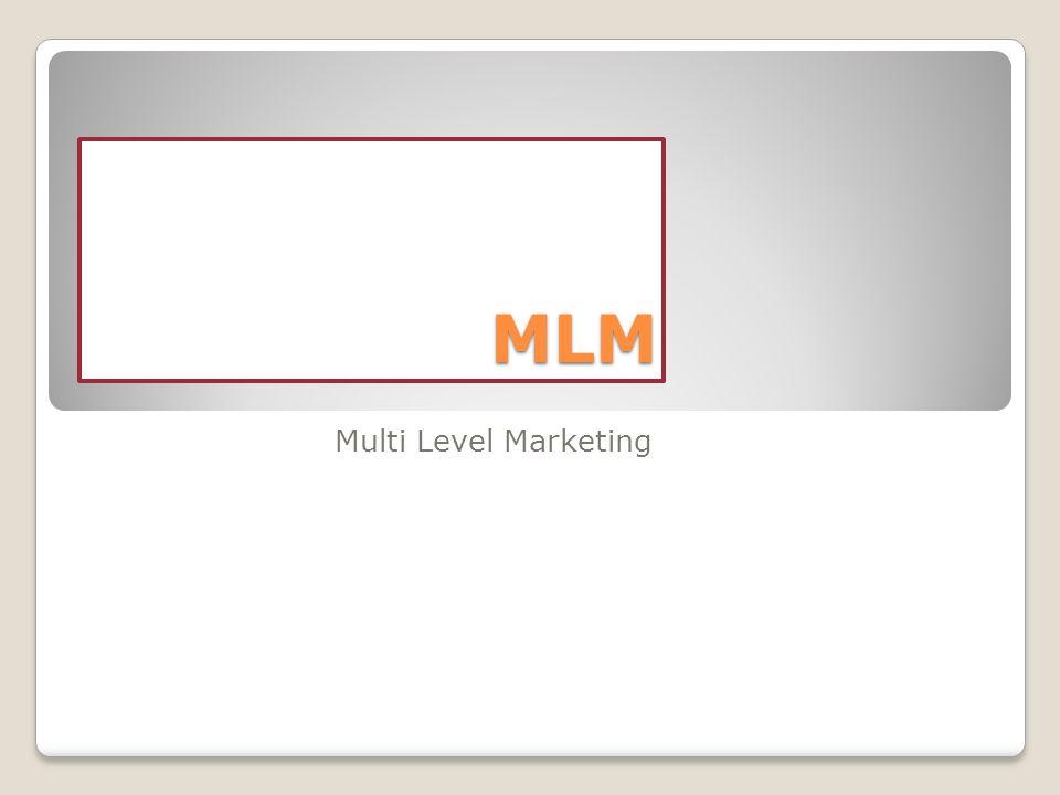 I più grandi esperti economici definiscono il MLM limpresa ideale.