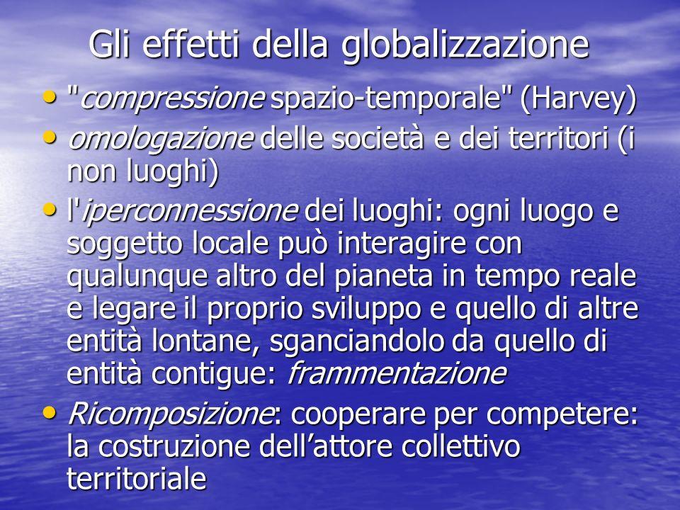 Gli effetti della globalizzazione Gli effetti della globalizzazione
