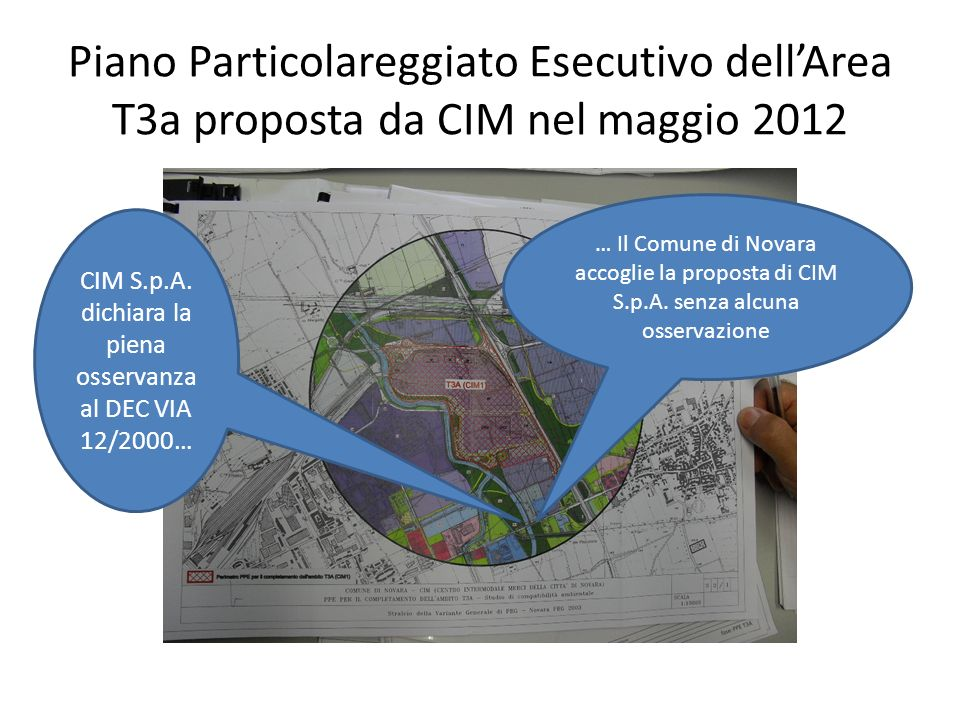 Piano Particolareggiato Esecutivo dellArea T3a proposta da CIM nel maggio 2012 CIM S.p.A.