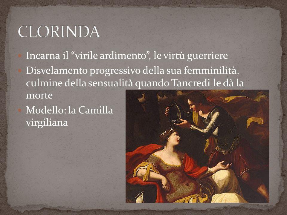 I (45-49): Tancredi vede Clorinda che beve ad una fonte e se ne innamora.