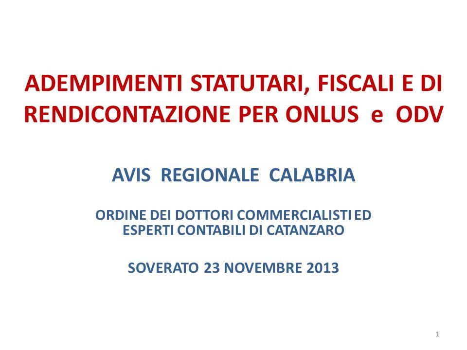 FUND RAISING – RACCOLTA OCASIONALE DI FONDI Sanzioni (Circolare Ministeriale n.