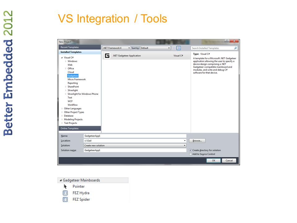 VS Integration / Tools