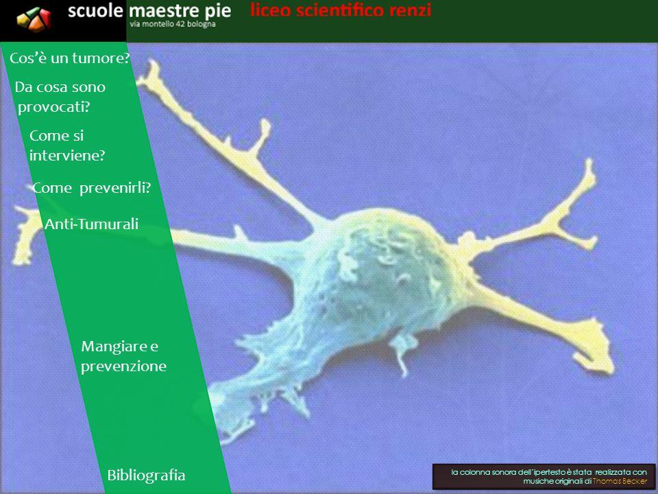 I tumori In patologia, un tumore (dal latino tumor, «rigonfiamento») o neoplasia (dal greco néos, «nuovo», e plásis, «formazione») è, nella definizione dell oncologo R.A.