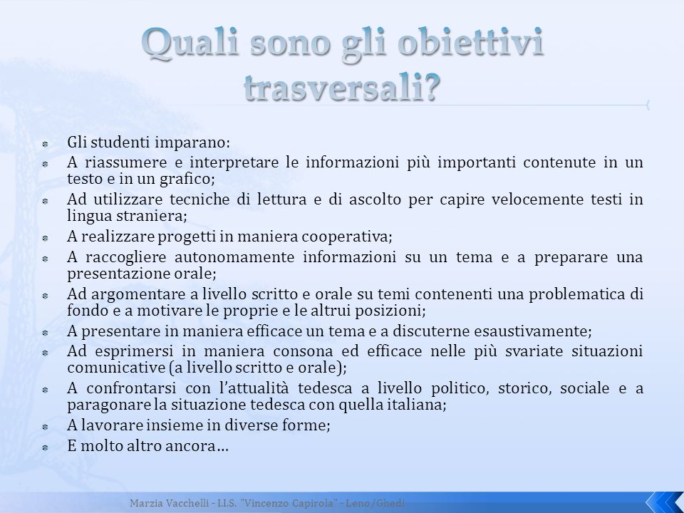 Gli insegnanti delle scuole DSD possono frequentare regolarmente seminari di formazione gratuiti sia in Italia che in Germania.