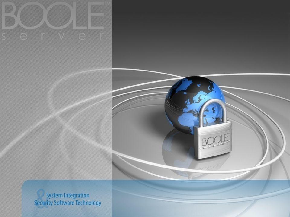 BOOLE SERVER SDK Utilizzando lSDK di Boole Server è possibile interfacciare le singole features di sicurezza con sistemi già esistenti, come ad esempio: IBM - SAP EMC 2 – Documentum Microsoft – Sharepoint...