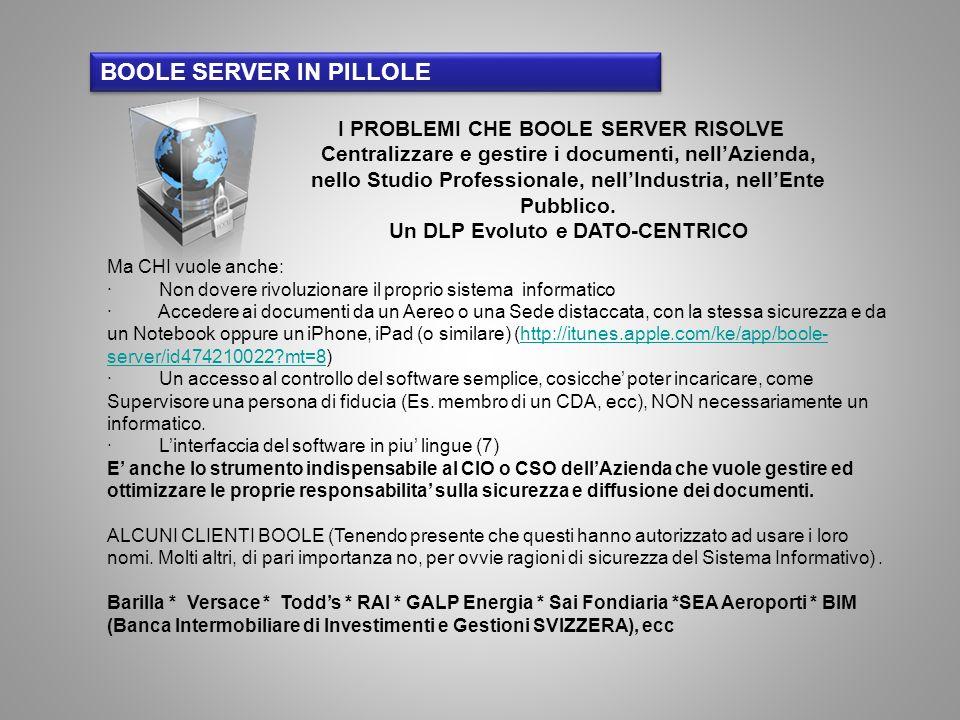 Ma CHI vuole anche: · Non dovere rivoluzionare il proprio sistema informatico · Accedere ai documenti da un Aereo o una Sede distaccata, con la stessa