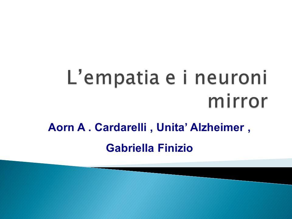 Aorn A. Cardarelli, Unita Alzheimer, Gabriella Finizio