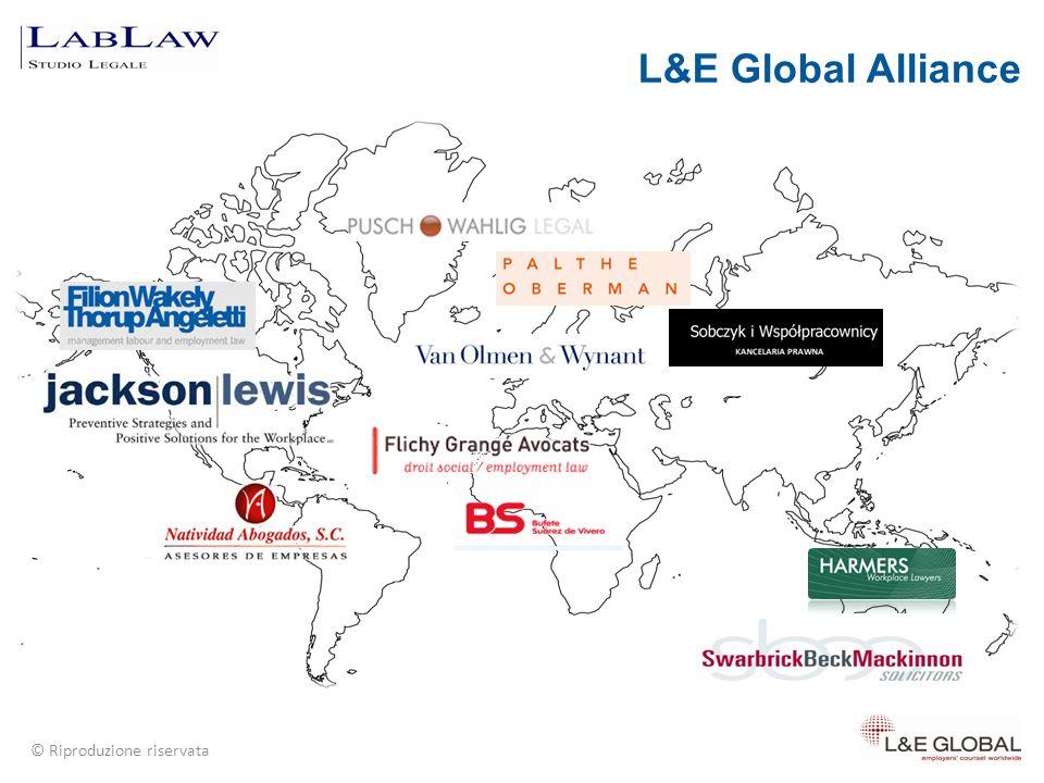 © Riproduzione riservata L&E Global Alliance