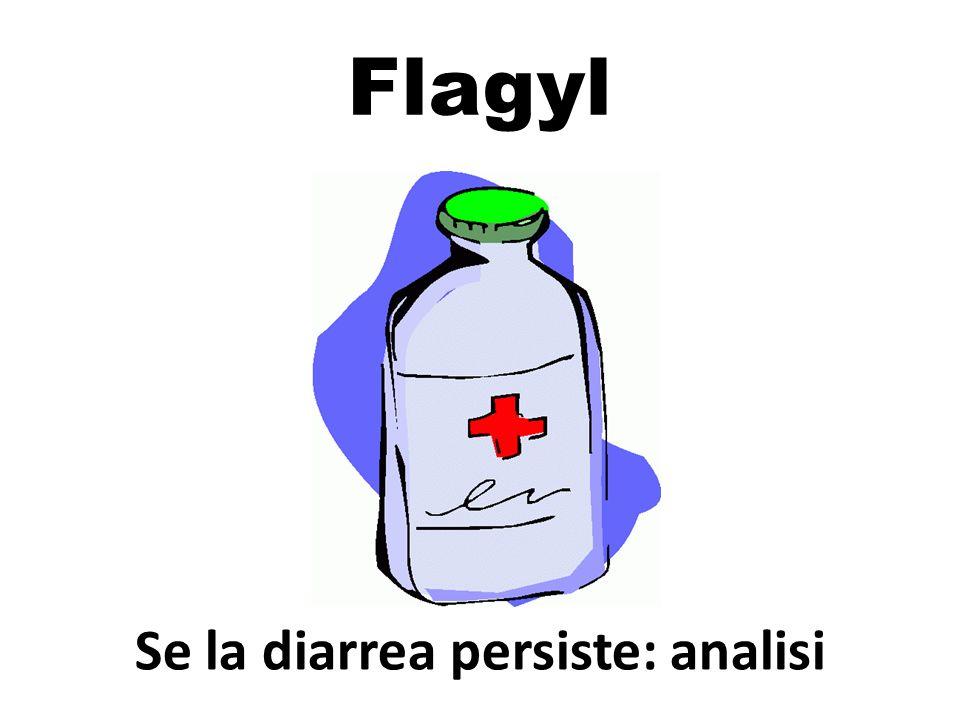 Flagyl Se la diarrea persiste: analisi