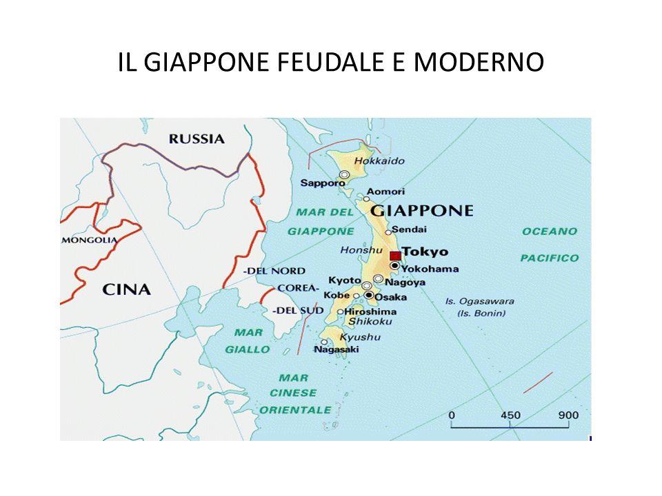 IL GIAPPONE FEUDALE E MODERNO