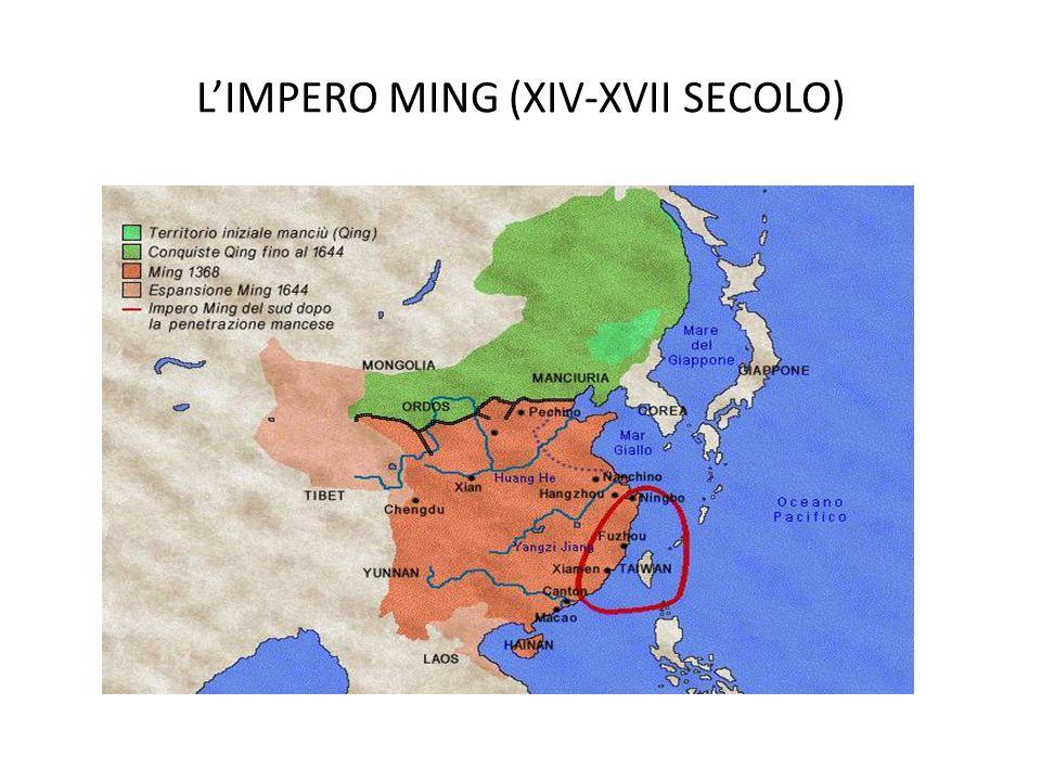 LIMPERO MING (XIV-XVII SECOLO)
