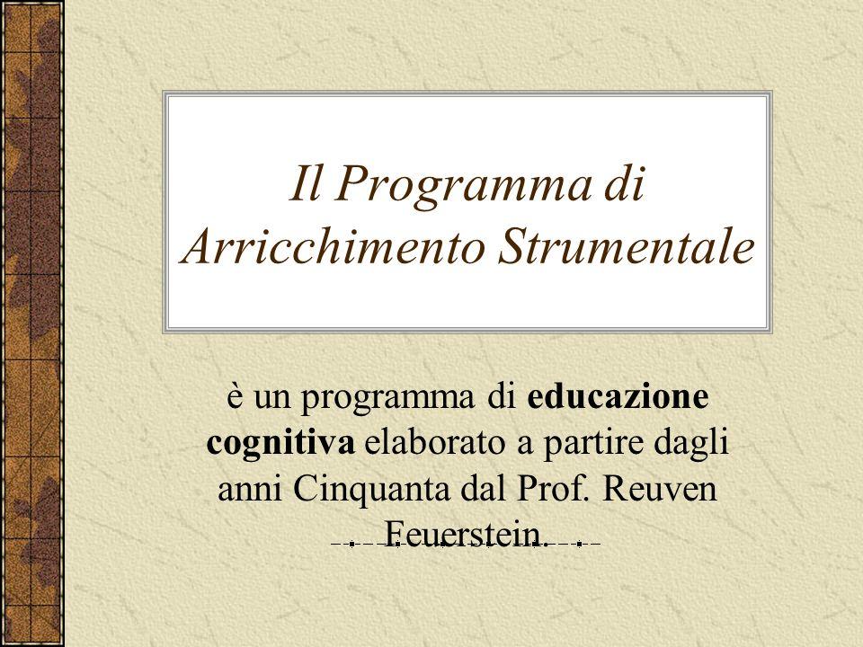 Il Programma di Arricchimento Strumentale è un programma di educazione cognitiva elaborato a partire dagli anni Cinquanta dal Prof. Reuven Feuerstein.
