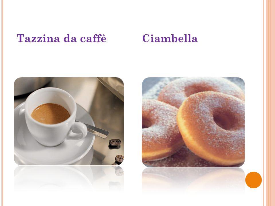 Tazzina da caffè Ciambella