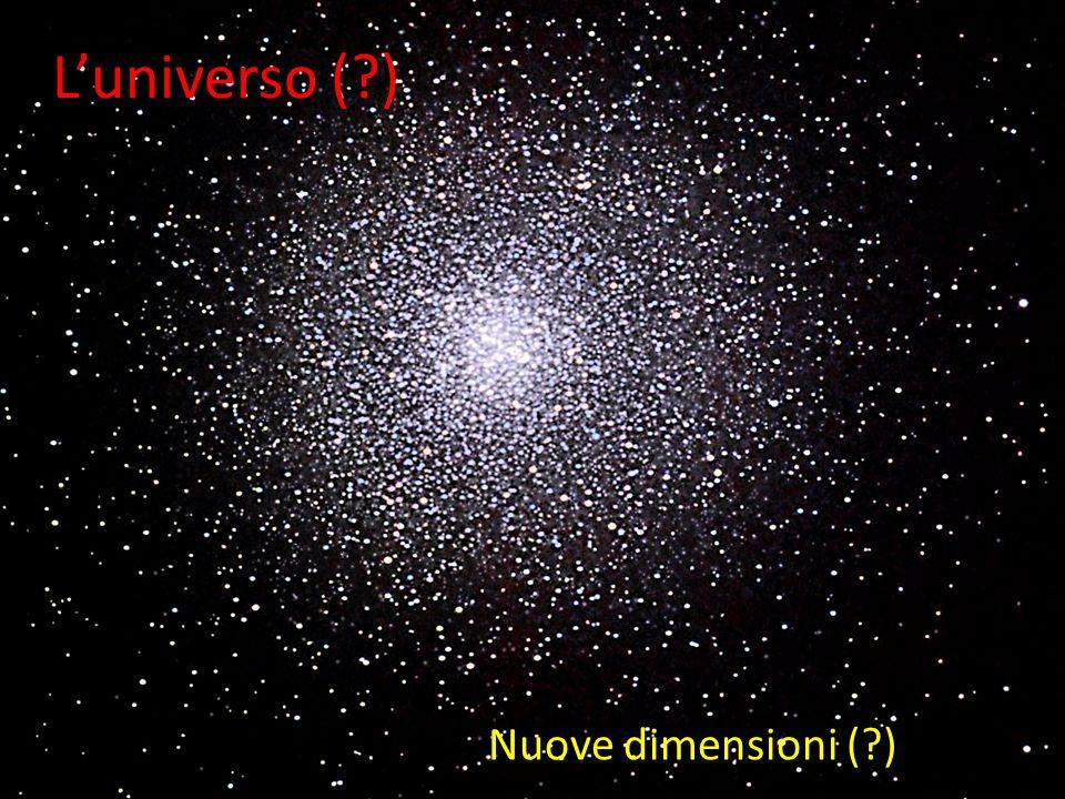 Luniverso (?) Nuove dimensioni (?)