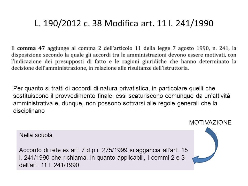 Legge 190/2012 Introduzione dellart.35 bis nel d.lgs.