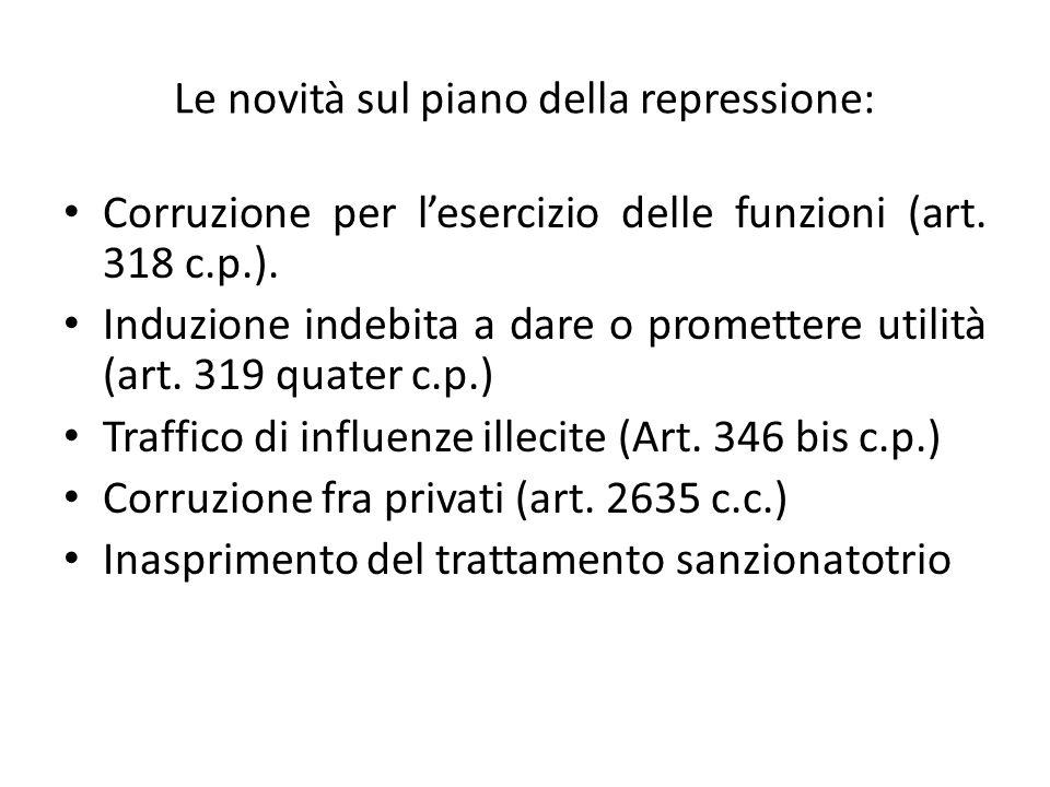 44 Corruzione per lesercizio della funzione (Art.