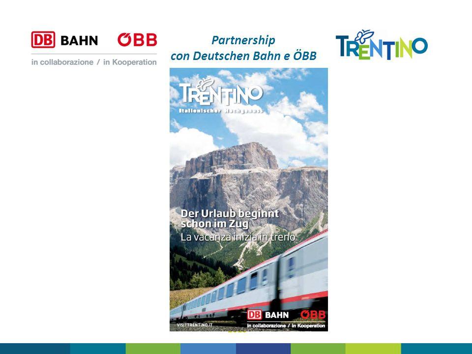Partnership con Deutschen Bahn e ÖBB 2013