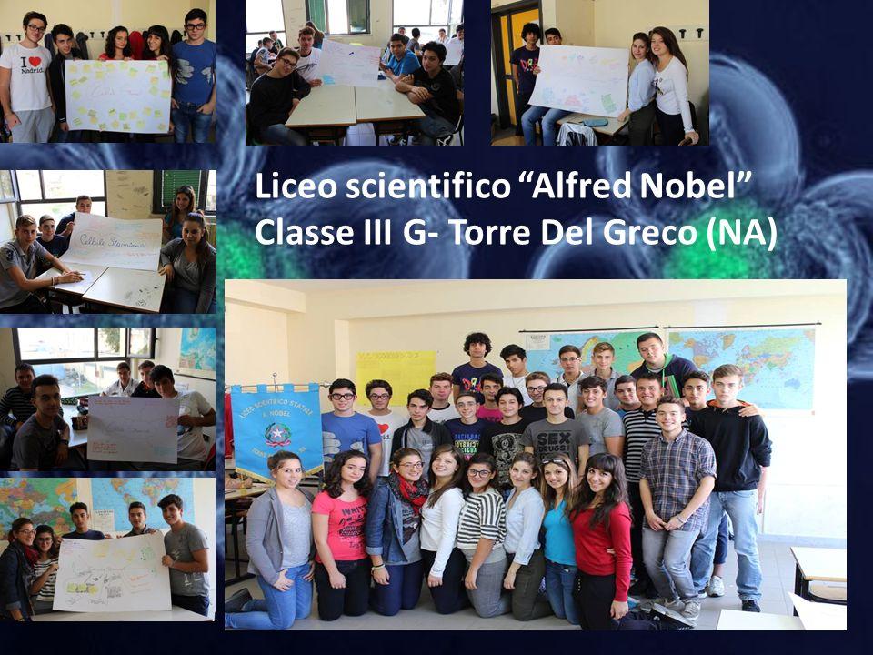 Liceo scientifico Alfred Nobel Classe III G- Torre Del Greco (NA)