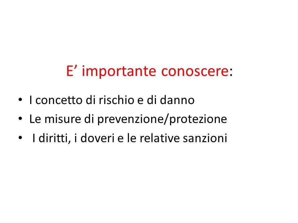 RISCHIO Definizione di Rischio art.2, lettera s, D.Lgs.