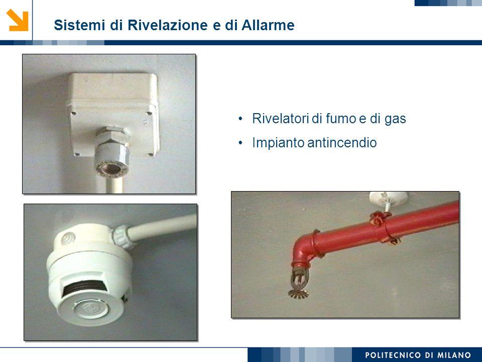 Mirvana Lauria Sistemi di Rivelazione e di Allarme Rivelatori di fumo e di gas Impianto antincendio