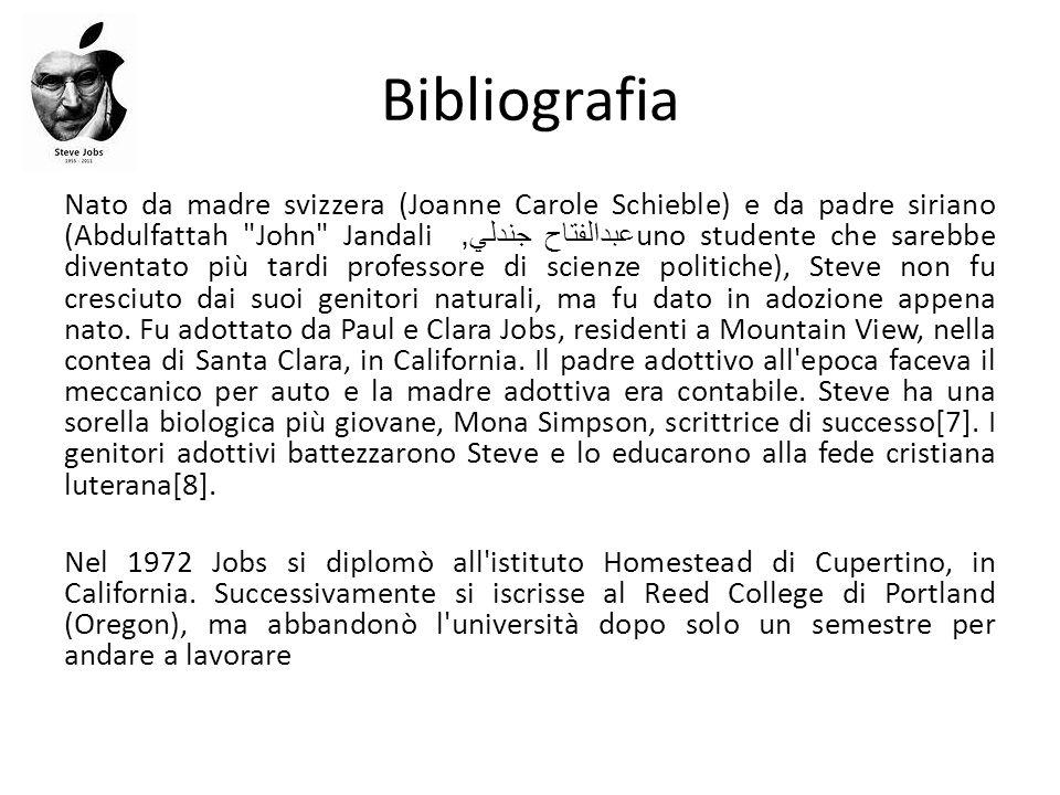 Bibliografia Nato da madre svizzera (Joanne Carole Schieble) e da padre siriano (Abdulfattah