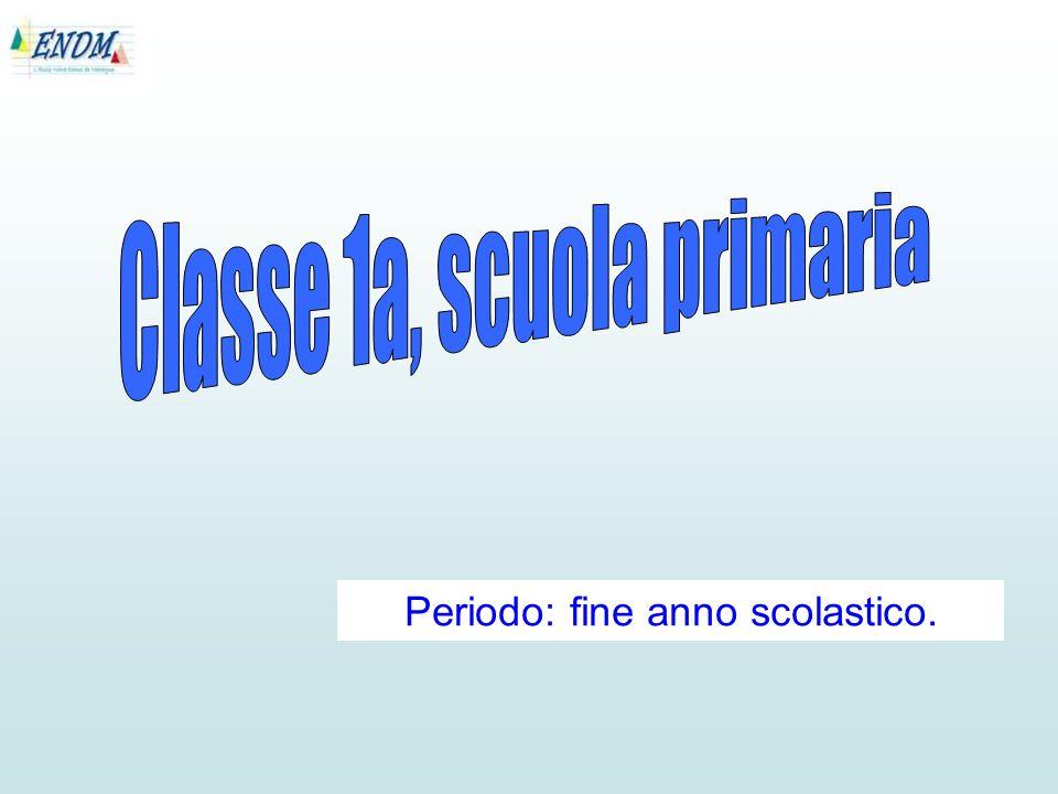 Periodo: fine anno scolastico.