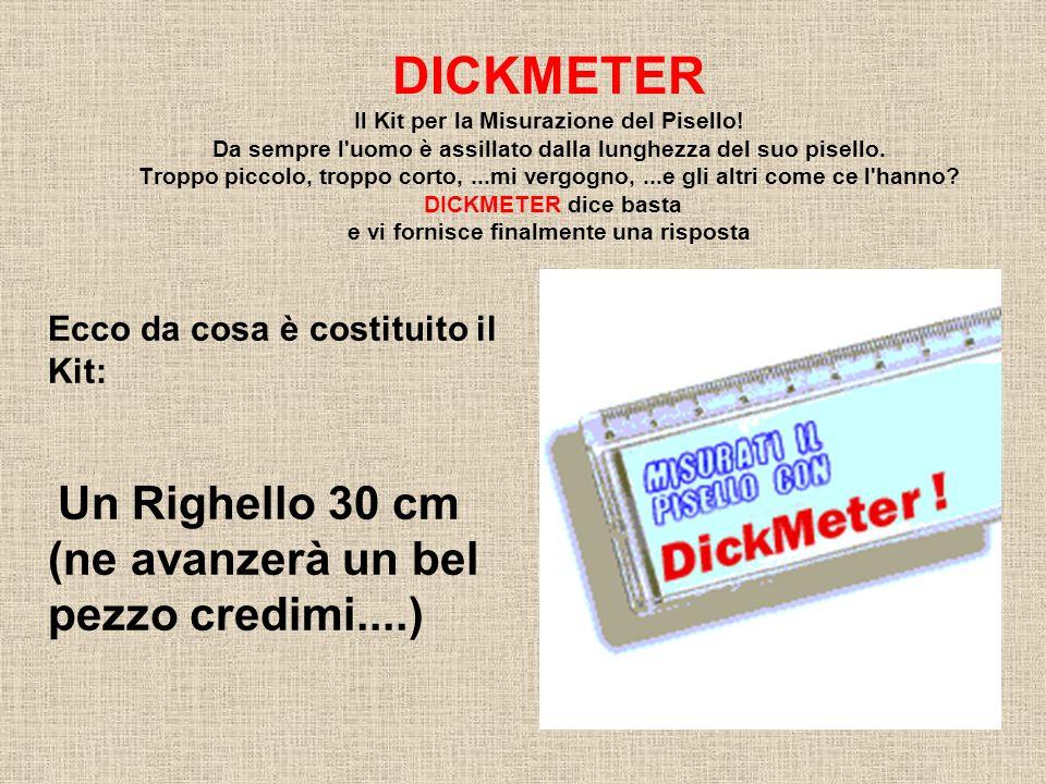DICKMETER Il Kit per la Misurazione del Pisello.