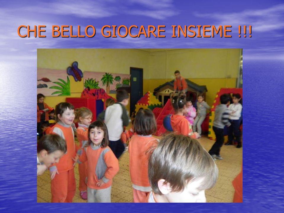 CHE BELLO GIOCARE INSIEME !!!