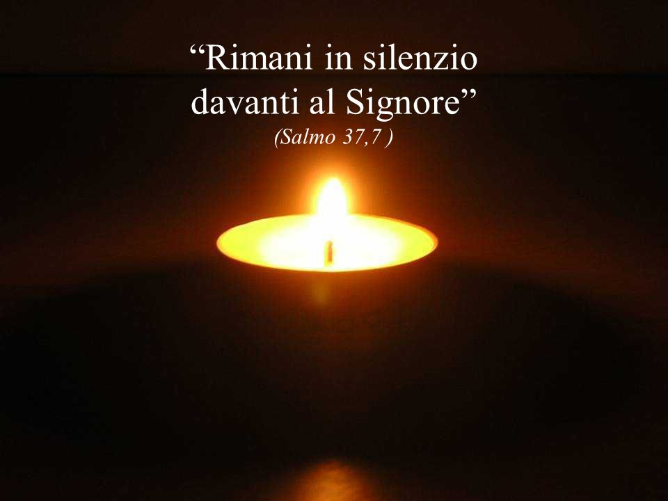 Rimani in silenzio Rimani