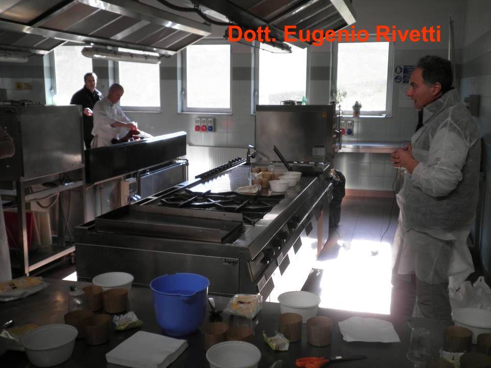 Lo chef Rudari Stefano e il dott. Eugenio Rivetti