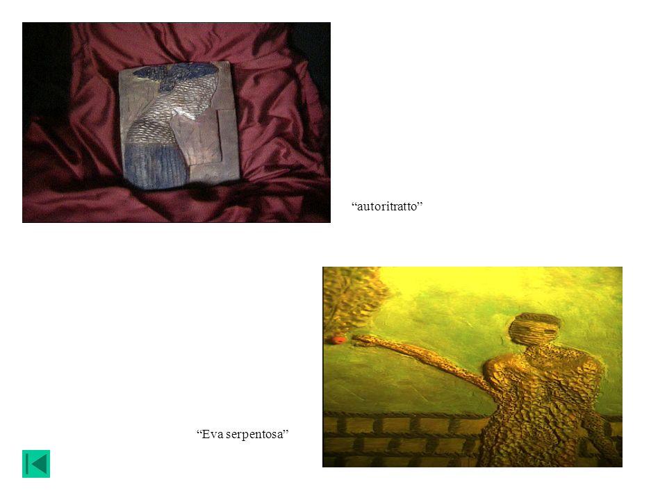 autoritratto Eva serpentosa