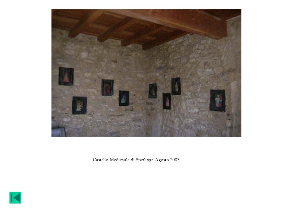 Castello Medievale di Sperlinga Agosto 2003