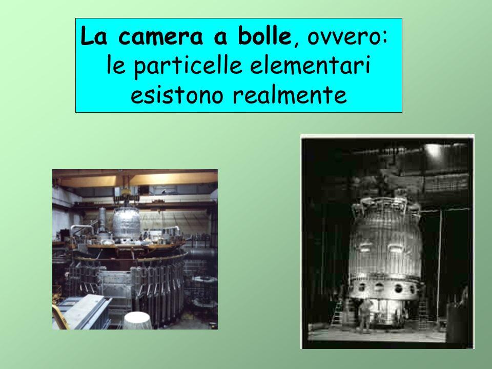 La camera a bolle, ovvero: le particelle elementari esistono realmente