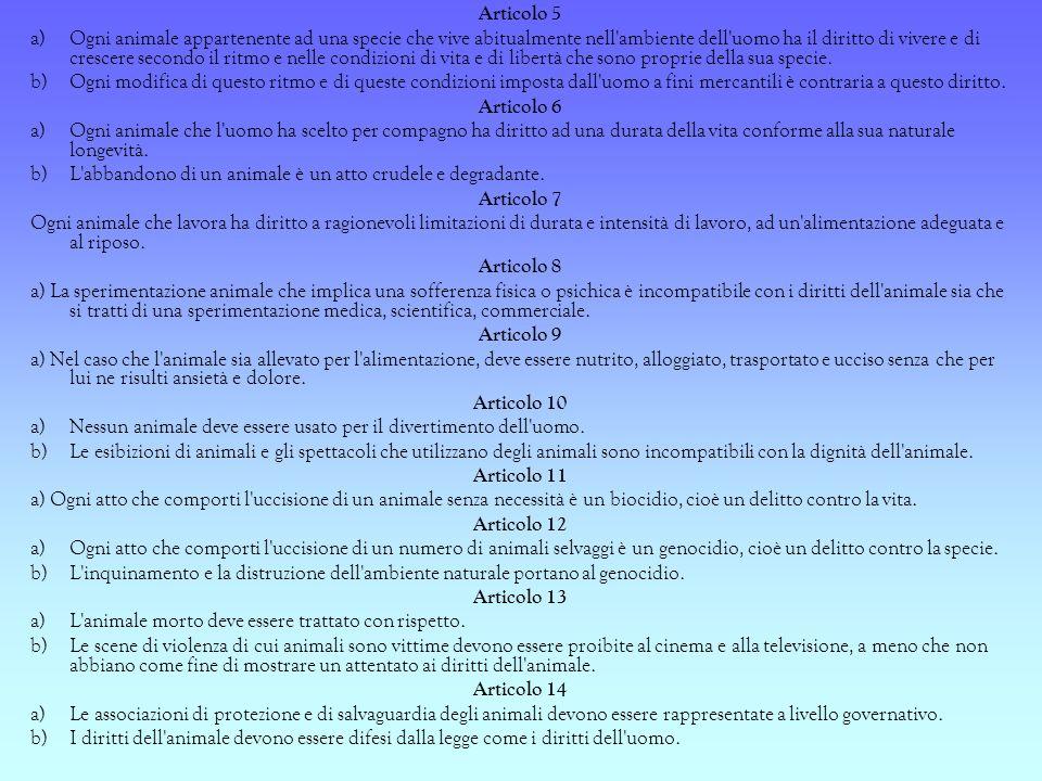 Riferimenti Normativi nazionali Legge 281 del 14/08/1991 : Legge quadro in materia di affezione e prevenzione del randagismo –art.