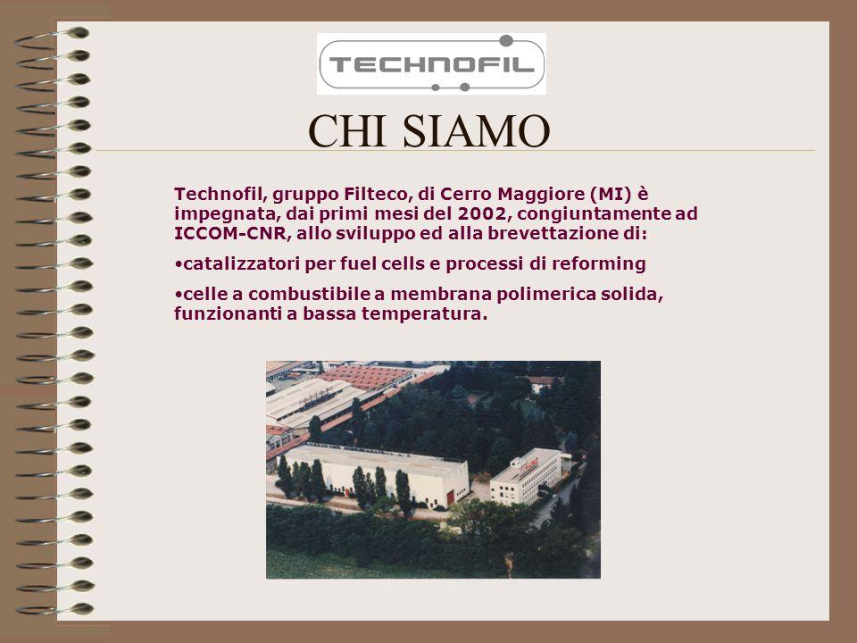 CHI SIAMO Technofil, gruppo Filteco, di Cerro Maggiore (MI) è impegnata, dai primi mesi del 2002, congiuntamente ad ICCOM-CNR, allo sviluppo ed alla b