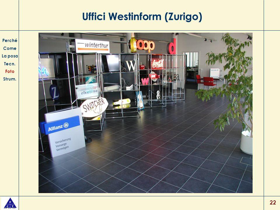 22 Uffici Westinform (Zurigo) Perché Come La posa Tecn. Foto Strum.