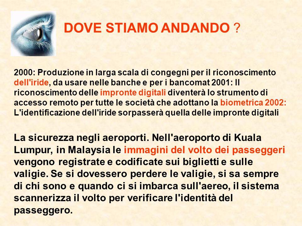 DOVE STIAMO ANDANDO .