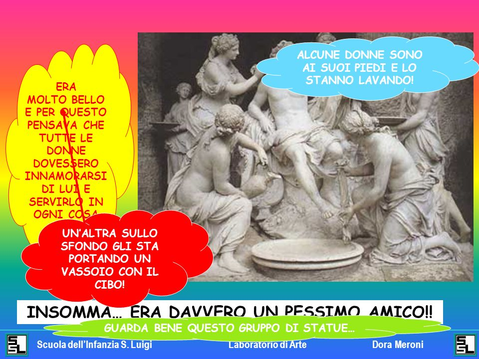 Scuola dellInfanzia S.LuigiLaboratorio di ArteDora Meroni INSOMMA… ERA DAVVERO UN PESSIMO AMICO!.
