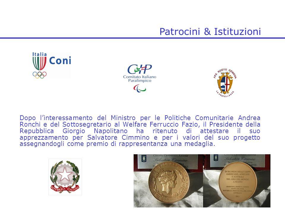 Dopo linteressamento del Ministro per le Politiche Comunitarie Andrea Ronchi e del Sottosegretario al Welfare Ferruccio Fazio, il Presidente della Rep