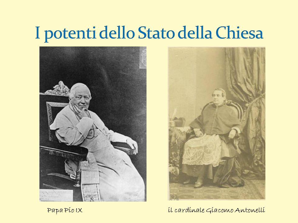Papa Pio IX il cardinale Giacomo Antonelli