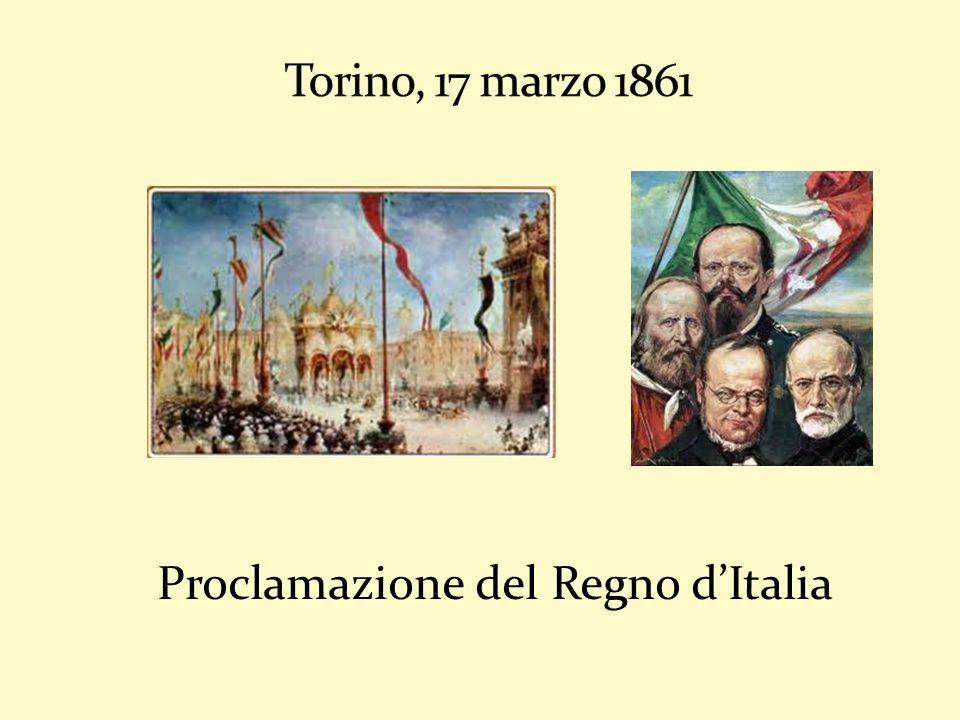 Proclamazione del Regno dItalia