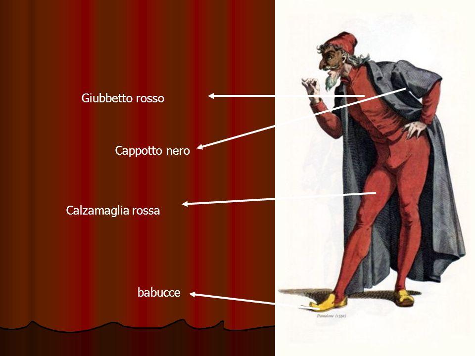 Calzamaglia rossa Giubbetto rosso Cappotto nero babucce