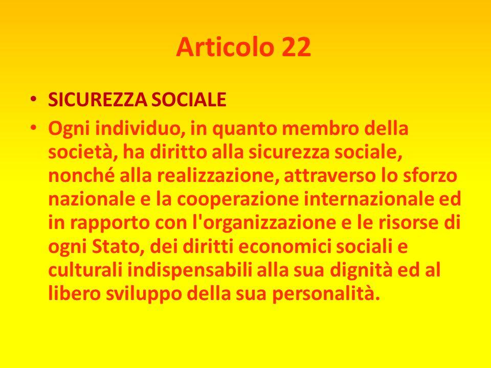 Articolo 21 DIRITTO ALLA DEMOCRAZIA 1) Ogni individuo ha diritto di partecipare al governo del proprio paese, sia direttamente, sia attraverso rappres