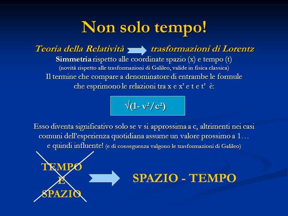 Il paradosso apparente dei gemelli Ci sono due gemelli, Antonio e Bartolo.