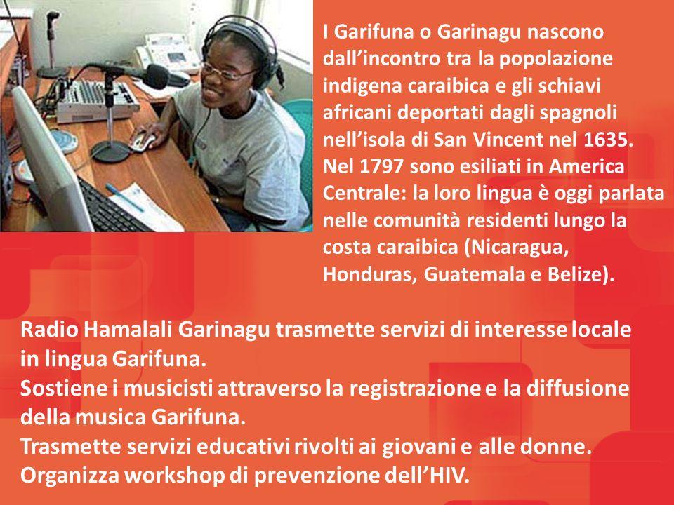 I Garifuna o Garinagu nascono dallincontro tra la popolazione indigena caraibica e gli schiavi africani deportati dagli spagnoli nellisola di San Vincent nel 1635.