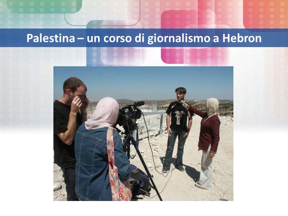 Palestina – un corso di giornalismo a Hebron